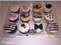 Kate Spade inspired cupcakes