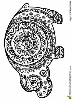 Mandela coloring page elephant albums recommand s for Paisley elephant coloring pages