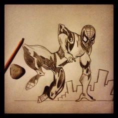 A quick Spiderman sketch I did a few days back