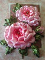 Gallery.ru / Фото #28 - *** - Valya66 Floral Wreath, Ribbon, Wreaths, Rose, Plants, Home Decor, Make Hair Bows, Ribbon Hair Ties, Embroidery Hearts