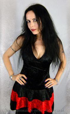 Moonmaiden Gothic Clothing -  Nymphalinae Bodice