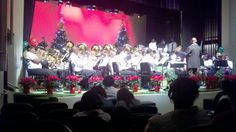 BOE with new instruments for their Holiday Concert