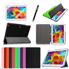 Leather Case Cover For Samsung Galaxy Tab S 10.5 Inch SM-T800 + Screen Protector #UnbrandedGeneric