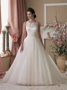 Style No. 114273  »  David Tutera for Mon Cheri
