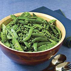 Sugar Snap-Snow Pea Salad Recipe | MyRecipes.com