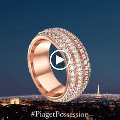 """Sense the meaning of """"Turn & the world is yours"""" with this stunning Possession piece: http://int.piaget.com/jewellery/possession/turn-and-the-world-is-yours#/product/ring/G34P1B00"""