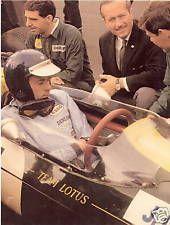 JIM CLARK - Photograph  Grand Prix - F1 Motor Racing