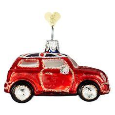 Buy Bombki Tourism Little UK Mini Cooper Glass Hanging Decoration Online at johnlewis.com