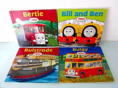 Your place to buy and sell all things handmade Stirling Engine, Double Decker Bus, Thomas The Tank, Magpie, Book Collection, Cottage Chic, Paperback Books, I Am Happy, Childrens Books