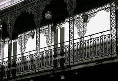 A French Quarter Balcony in Silhouette - © David Paul Ohmer, Creative Commons via Flickr