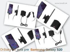 Nové držiaky do auta pre Samsung Galaxy S20 G980. Pasívny držiak Brodit pre pevnú montáž v aute, aktívny s CL nabíjačkou, s USB alebo s Molex konektorom. Molex Connector, Android Secret Codes, Car Holder, Ipad Air, Usb, Apple Iphone, Samsung Galaxy, Coding, Charger