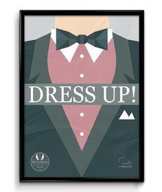 Dress up!  ( A2 42x59,40 Cm )