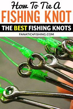 Tying Fishing Knots, Best Fishing Knot, Bass Fishing Tips, Fishing Rigs, Surf Fishing, Fishing Stuff, Crappie Fishing, Saltwater Fishing, Fishing Boats