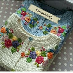 Image may contain: 1 person - SalvabraniSummer is in full swing and I recently searched my reserve to see which thread I would like to use for a new, easy-to-wear crochet top. Cardigan Au Crochet, Crochet Baby Sweaters, Gilet Crochet, Crochet Coat, Crochet Baby Clothes, Crochet Jacket, Crochet Cardigan, Beau Crochet, Mode Crochet