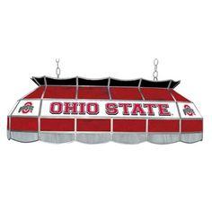 Trademark NCAA Logo 40 Inch Pool Table Light - Pool Table Lights at Hayneedle Ohio State Football, Ohio State University, Ohio State Buckeyes, American Football, College Football, Billiard Pool Table, Billiards Pool, Sport Pool, Pool Table Lighting
