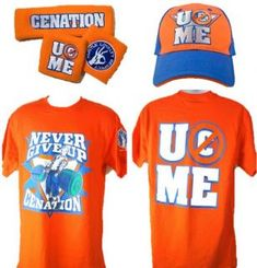 John Cena Orange Cenation WWE Costume T Shirt Baseball Hat Headband Wwe Costumes, T Shirt Costumes, John Cena Costume, John Cena Wwe Champion, Wwe Bedroom, Wwe Shirts, Wwe Champions, Cheetos, Backyard For Kids