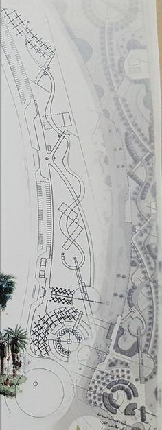 Jeddah Cultural Park. Landscape Architects: Ahmad Al-Gilani. Mamdouah Subsihe