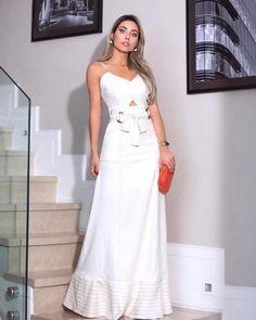 """8c31972f BR⚜ on Instagram: """"Vestido SABRINA linho longo♥ ⚪️Tam PM 🛑COMPRE CLICANDO  NA FOTO ⚪️COMPRAS PELO SITE ⬇ www.sibellemodas.com.br ⚪️PARCELAMOS ..."""