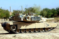 M1 Abrams Main battle tank.