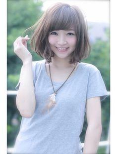 ユーフォリア(Euphoria SHIBUYA GRANDE)【Euphoria】ラフさと甘さが可愛い☆小顔ボブ