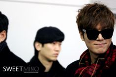 140110 Heading to wuhan china for Semir Event // sweetmino