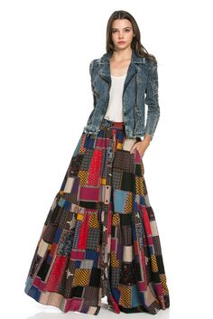 Patchwork Skirt Shannasthreads.com