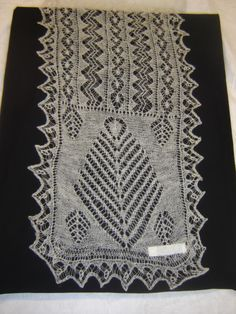 Lace - Shetland Museum photo by edithcone