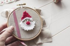 Christmas Crochet Hanging Decorations