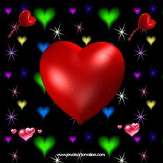 "Jewels Art Creation: Heart Beats-A great photo for ; ""Go Red For Women"" Heart Health Group.."