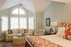Transitional (Eclectic) Bedroom by Nicole Rice