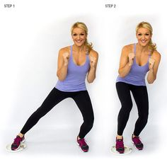 Whether you have bulky legs or jiggly thighs, these 3 moves will work to both tone and elongate those muscles.