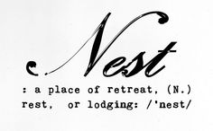 coffee-and-wood:  Nest.