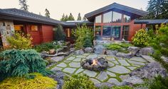 Pacific Northwest Outdoor Living Design Images: Davepamhome171