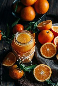 Fresh orange juice by Nataša Mandić - Orange, Juice - Stocksy United Pineapple Orange Juice, Orange Carrot Juice, Orange Juice Cake, Orange Juice Cocktails, Orange Juice Smoothie, Strawberry Banana Smoothie, Tequila Drinks, Juice Drinks, Alcoholic Drinks
