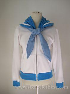 Sailor Mercury Seifuku Hoodie