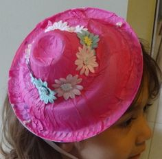How to make Paper Plate Easter Bonnet - DIY Craft Project with instructions from Craftbits.com
