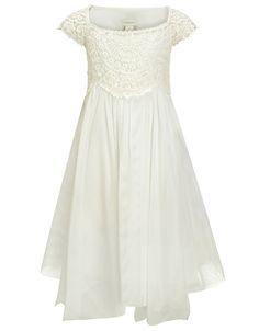 Elena Dress | White | Monsoon  Flower girl dress