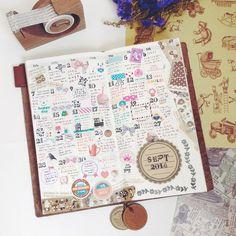 My Precious♡ | TRAVELER'S notebook みんなの投稿 - MIDORI