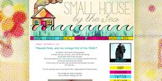 Small House by the Sea Design. CMYK print inspired.