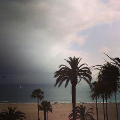 Hotel Shangri La Rooftop Bar, Santa Monica, CA | ©mary johanna seibert