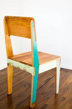 Chair #Reclaimed Wood