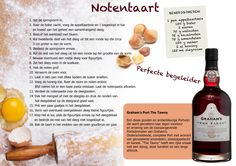 Graham's The Tawny met je eigen zelfgemaakte notentaart! #recept #port