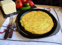 omleta-cu-cartofi-rasi-5 Mozzarella, Cornbread, Macaroni And Cheese, Ethnic Recipes, Food, Millet Bread, Mac Cheese, Meal, Essen