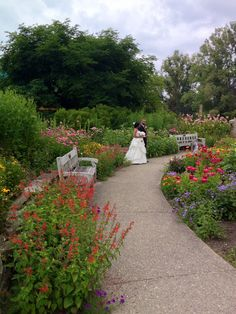 Jessica And Michaelu0027s Wedding, July 2014 At In The Gateway Garden At Matthaei  Botanical Gardens.