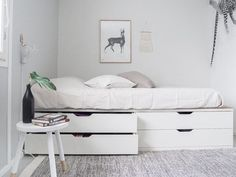 30 French Country Bedroom Design and Decor Ideas for a Unique and Relaxing Space - The Trending House Tiny Bedroom Design, Country Bedroom Design, Girl Bedroom Designs, Home Room Design, Bed Design, Ikea Hack Bedroom, Room Ideas Bedroom, Small Room Bedroom, Bedroom Decor