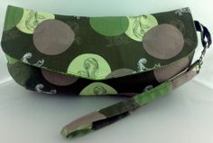 Clutch / Wristlet with Detachable Wrist Strap by BlackCatStitches, $25.00