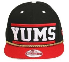 YUMS New Era Jambox Snapback (Black/Red/White) by YUMS Shoes. $39.99