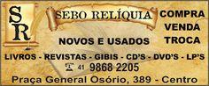 Sebos de Curitiba: SEBO RELÍQUIA - CURITIBA