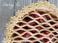 Tarte aux Cerises - Cherry Pie | Parmesan et Paprika  #cherrypie #cerises #tarte