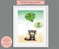 Nursery Wall Art Nursery Print Nursery Art Wall Art Print Nursery Prints, Nursery Wall Art, Wall Art Prints, Watercolor Design, Nordic Design, Animal Nursery, Large Prints, Printable Wall Art, Illustration